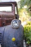 Lámpara principal del viejo acr Foto de archivo
