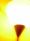 Lámpara que brilla intensamente Foto de archivo libre de regalías
