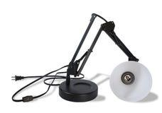 Lámpara quebrada (camino de recortes) Imagenes de archivo