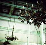 Lámpara rústica Fotografía de archivo libre de regalías