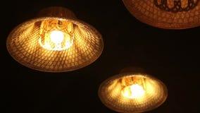 Lámpara rústica del estilo tailandés