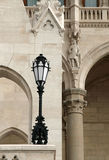 Lámpara retra Foto de archivo libre de regalías