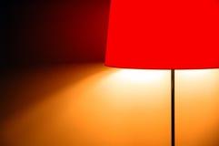 Lámpara roja Fotos de archivo libres de regalías