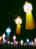 Lámpara tailandesa del estilo Fotos de archivo