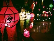 Lámpara tailandesa del estilo Fotografía de archivo libre de regalías