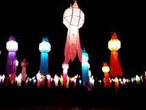 Lámpara tailandesa del estilo Imagenes de archivo