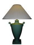 Lámpara verde del florero de la porcelana Fotografía de archivo libre de regalías