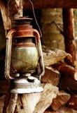 Lámpara vieja Imagen de archivo