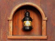 Lámpara vieja Fotos de archivo