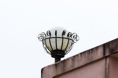 Lámpara vieja. Foto de archivo libre de regalías