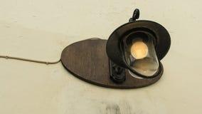 Lámpara vieja Imagenes de archivo