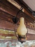 Lámpara vieja del hierro Imágenes de archivo libres de regalías