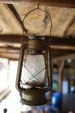 Lámpara vieja del petróleo Imagen de archivo