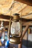 Lámpara vieja del petróleo Fotos de archivo