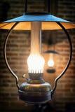Lámpara vieja del petróleo Fotos de archivo libres de regalías