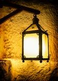 Lámpara vieja del petróleo Fotografía de archivo libre de regalías