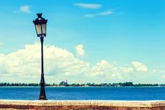 Lámpara vieja en San Juan Fotos de archivo