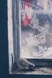 Lámpara vieja en windowsill Fotos de archivo