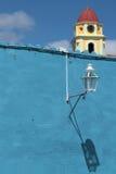Lámpara y campanario Imagen de archivo libre de regalías