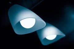Lámpara y espejo Foto de archivo libre de regalías