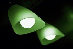 Lámpara y espejo Imagenes de archivo