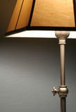 Lámpara y su cortina Fotos de archivo