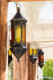 Lámparas árabes del estilo Foto de archivo libre de regalías
