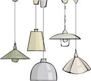 Lámparas Foto de archivo libre de regalías