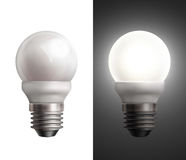 Lámparas ahorros de energía Imagenes de archivo