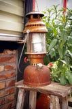 Lámparas antiguas Fotografía de archivo