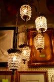 Lámparas antiguas de la ejecución Fotos de archivo