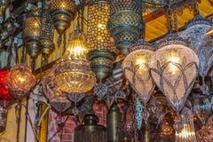 Lámparas auténticas Foto de archivo libre de regalías