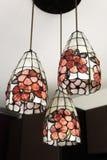 Lámparas colgantes del techo Fotografía de archivo