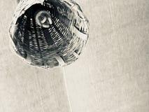 Lámparas de bambú fotografía de archivo