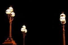 Lámparas de calle fotografía de archivo libre de regalías