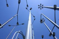 Lámparas de calle Imágenes de archivo libres de regalías