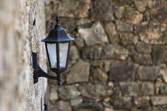 Lámparas de calle en la ciudad vieja Imagen de archivo