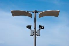 Lámparas de calle reflexivas Foto de archivo libre de regalías