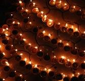 Lámparas de Diwali imagen de archivo libre de regalías