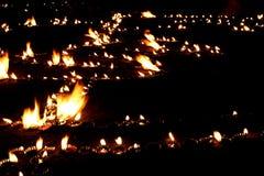 Lámparas de Diwali fotos de archivo