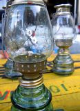 Lámparas de keroseno fotos de archivo