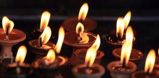 Lámparas de la iluminación para la paz Fotografía de archivo