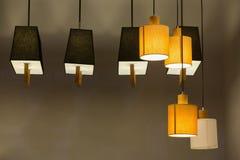 lámparas de la linterna Fotos de archivo libres de regalías