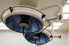 Lámparas de la operación Foto de archivo libre de regalías
