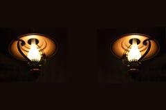 Lámparas de petróleo Foto de archivo