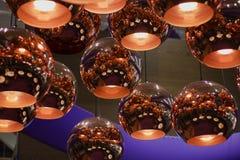 Lámparas - decoración luminosa Imagenes de archivo