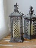 Lámparas decorativas viejas Imágenes de archivo libres de regalías