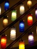 Lámparas del color Fotografía de archivo libre de regalías