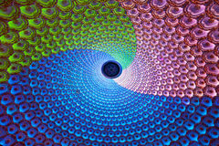 Lámparas del color - luces de Lotus Fotos de archivo libres de regalías