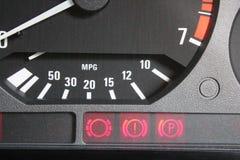 Lámparas del control del coche Imagen de archivo